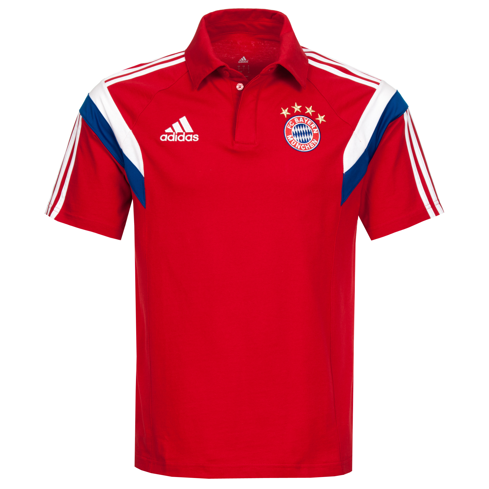 adidas Herren FC Bayern München Polo F49527 S
