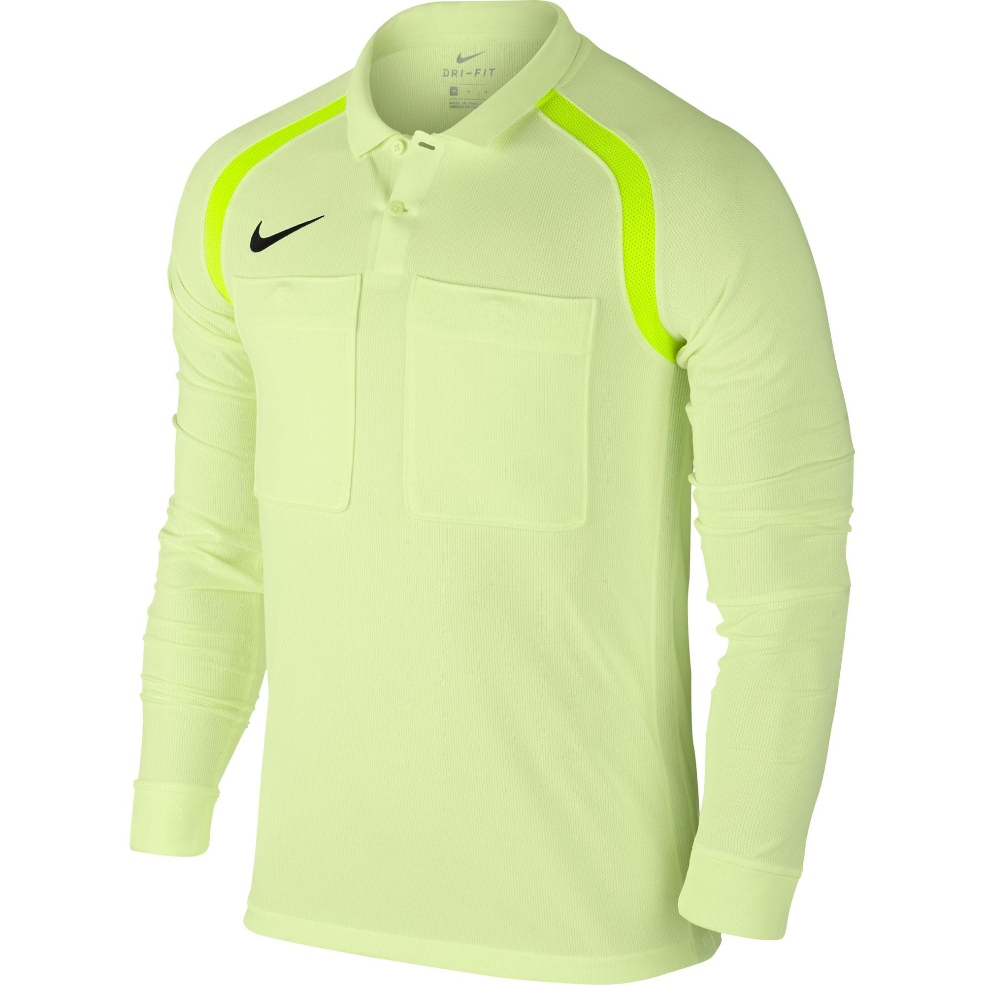 Nike Herren Schiedsrichter Langarm Trikot Team Referee Jersey 807704-701 M