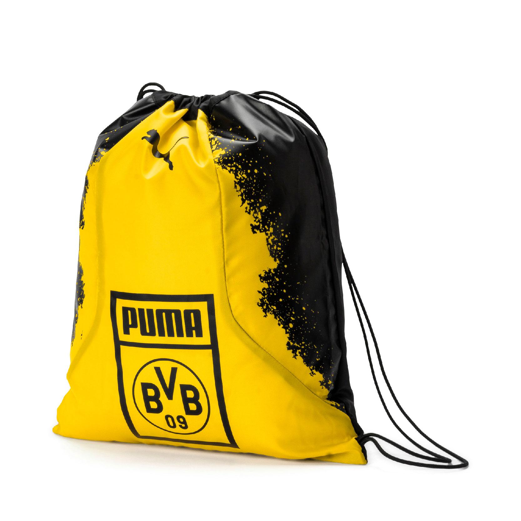 Puma BVB Borussia Dortmund Turnbeutel BVB Fan Gym Sack 075568-01