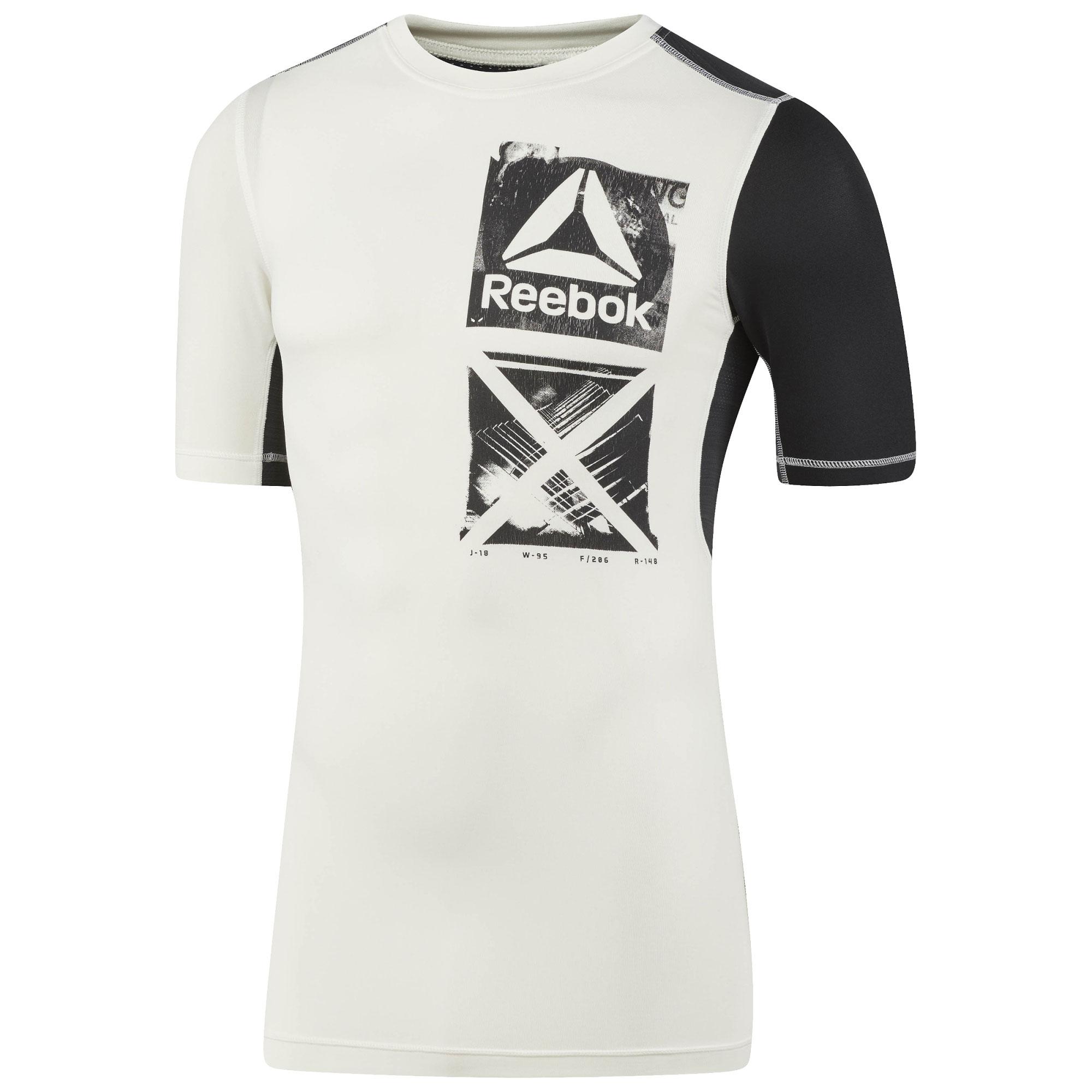 Reebok Herren Trainingsshirt Activchill Graphic Compression Tee BR9570 S