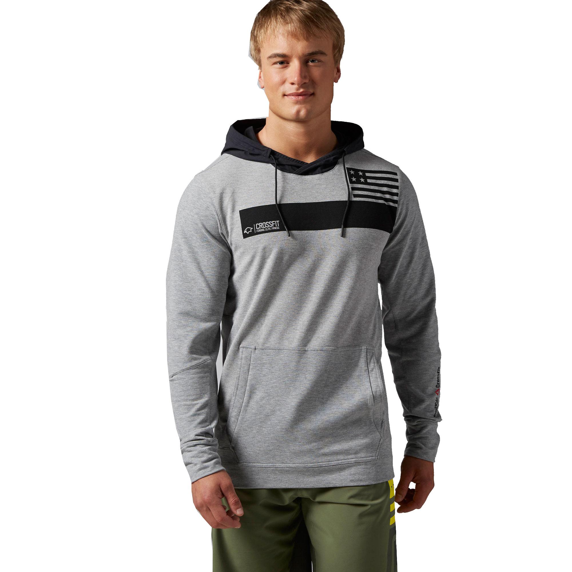 Reebok Herren Sweatshirt CrossFit Community Fle...