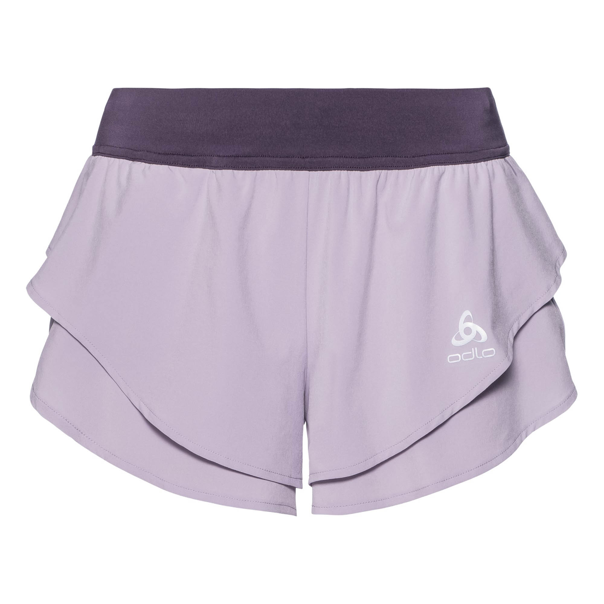 Odlo Damen Laufshort Split Shorts Omnius Light 321901-30464 S