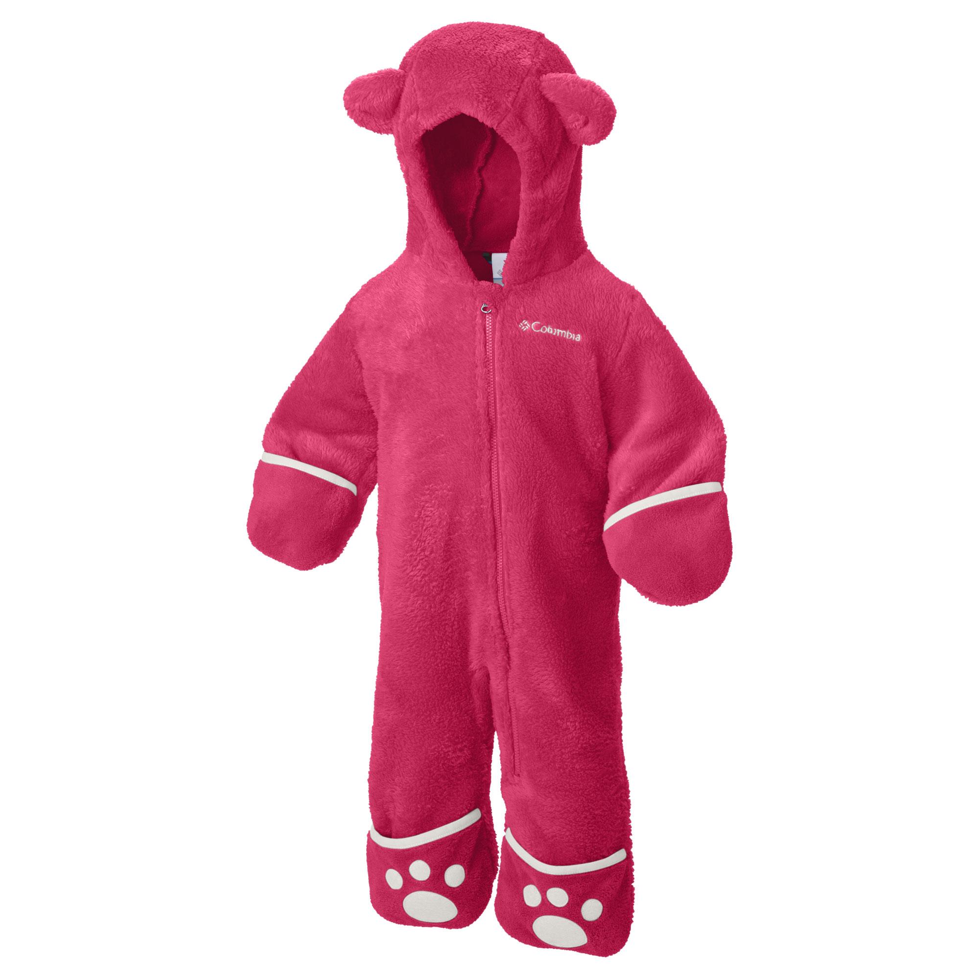 Columbia Baby Fleece Overall Foxy Baby II 1523721-637 6/12